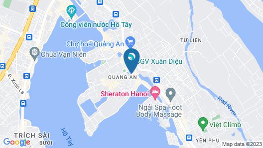 Fraser Suites Hanoi Map