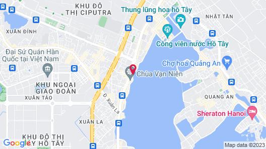 Tony House Hostel Map