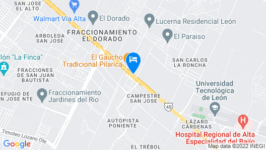 Hotel 5 Inn Plus Map