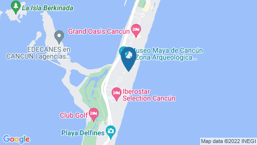 The Royal Caribbean - An All Suites Resort Map