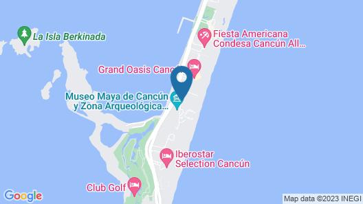 Caracol Vacation Club by Go Travel Club Map