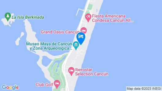 Omni Cancun Hotel and Villas All Inclusive Map