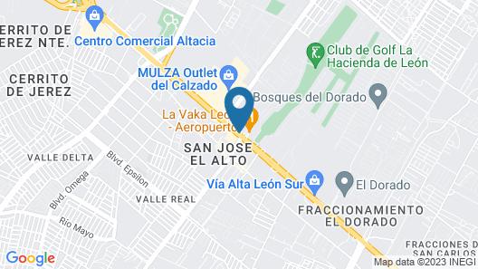 Hotel Real de Minas Bajio Map