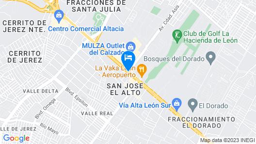 Hotel Glow Point - Mulza Map