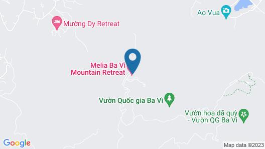 Melia Ba Vi Mountain Retreat Map