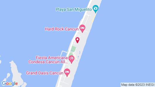 Marriott Cancun Resort Map