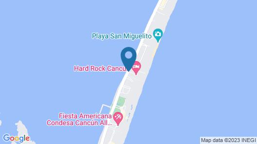 Hard Rock Hotel Cancun - All Inclusive Map