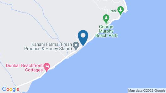 Beautiful Beachfront Home in Waialua - Aloha Hookipa Map