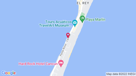 The Royal Sands All Inclusive Resort & Spa Map