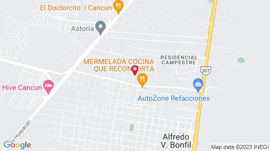 Casa La Selva Map