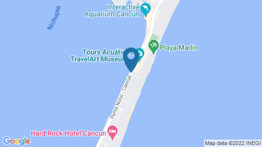 Casa Turquesa Map