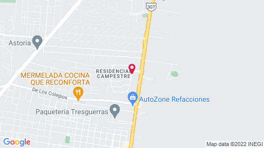 Casa Campestre Premium Bed and Breakfast Map