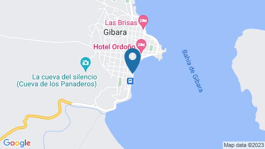 BS & Hostal Brisas del Mar Map