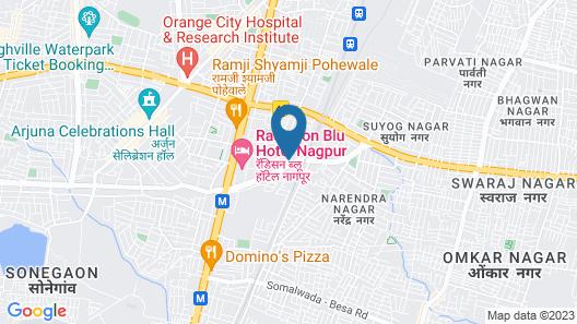Treebo Trend Hotel A1 Map