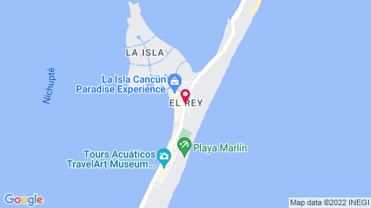 The Westin Lagunamar Ocean Resort Villas & Spa, Cancun Map