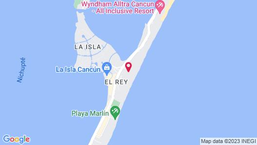 Condo in Ocean Front Hotel resort  Map