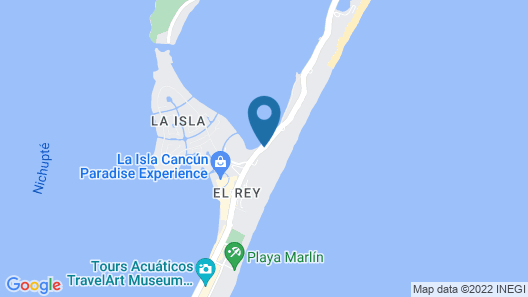 Melody Maker Cancun - All Inclusive  Map