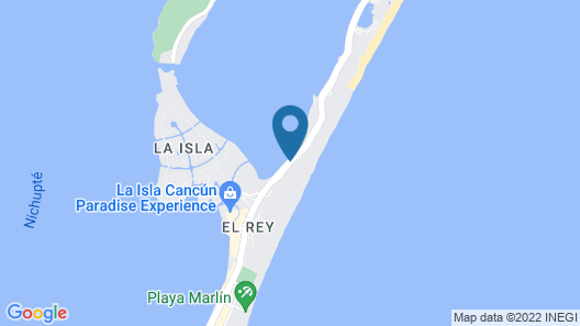 Beach Palace Resort All Inclusive Map