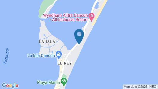 Hotel NYX Cancun All Inclusive Map