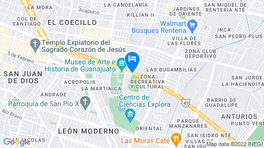 Hotel Plaza Stadium Map