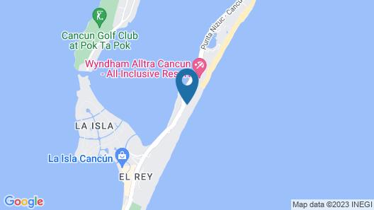 Flamingo Cancun Resort Map