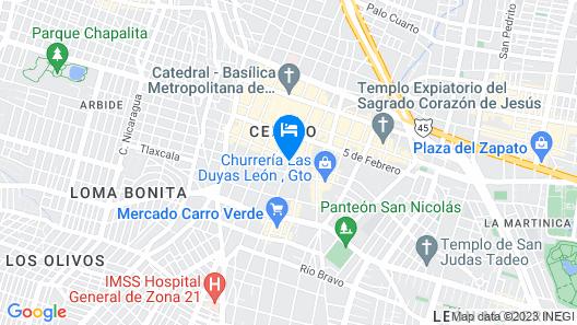 Elena de Cobre Map