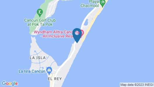 Hyatt Zilara Cancun  - All Inclusive - Adults Only Map