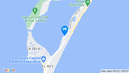Hyatt Zilara Cancun  - All Inclusive - Adults Only Map