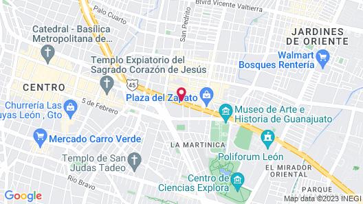 NEhotel Nueva Estancia Map