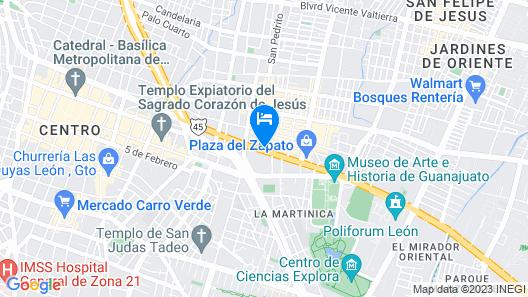 Capital O La Estancia Map