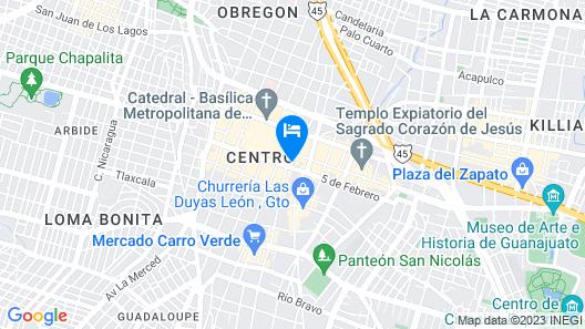Hostal Menavi Map