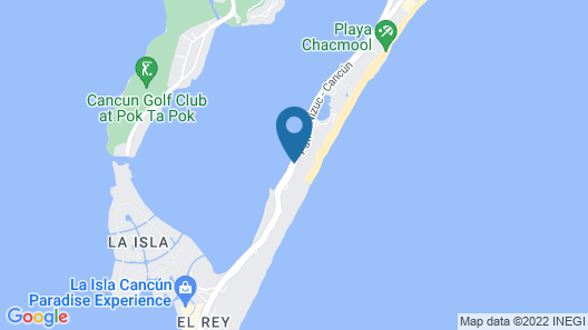 Panama Jack Resorts Cancun All Inclusive Map