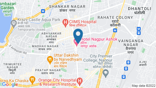 The Nagpur Ashok Map
