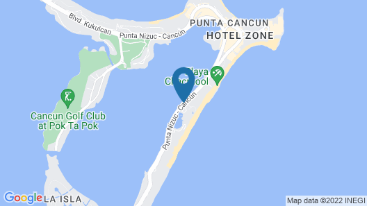 Sunset Royal Beach Resort - All Inclusive Map