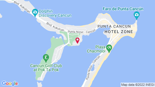 Suites Sina Cancún Map