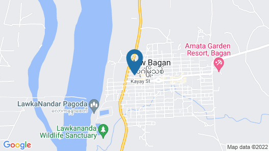 Areindmar Hotel Map