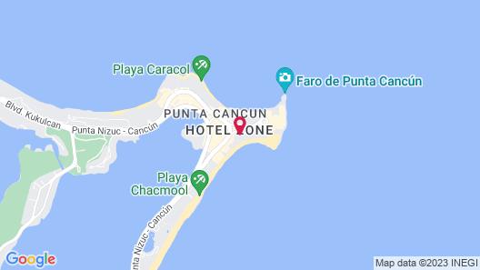 Krystal Cancun All Inclusive Map