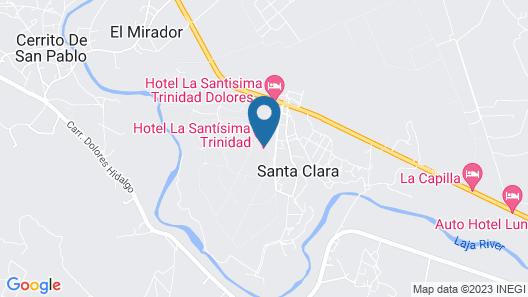 Hotel La Santísima Trinidad Map