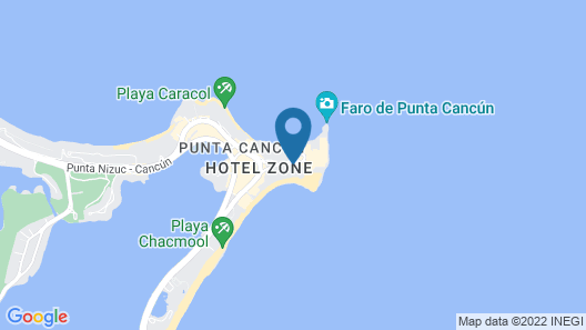 Altitude By Krystal Grand Punta Cancun - All Inclusive Map