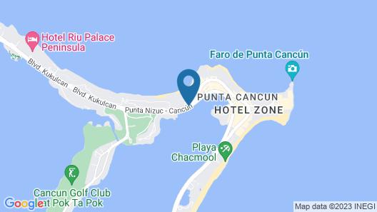 Beachscape Kin ha Villas & Suites Map