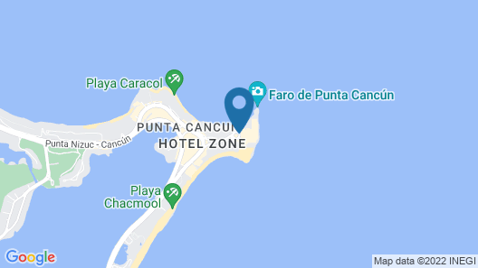Hyatt Ziva Cancun All Inclusive Map