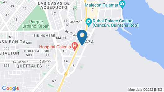 Malecon Luxury Apartment by Andiani Map