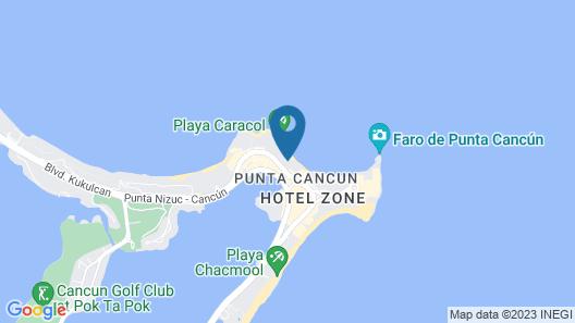 Riu Cancun All Inclusive Map