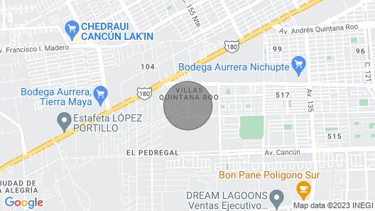 1 Bedroom Condo Bliss/Mayan Palace Riviera Maya Map