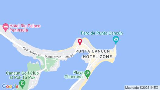 Mayafair Design Hotel Map