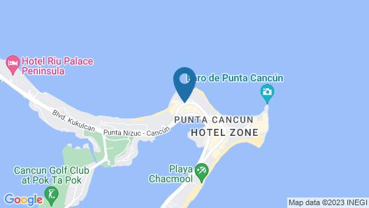 Fiesta Americana Cancun Villas Map
