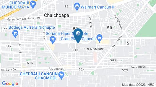 Liverte Downtown Apartments Map
