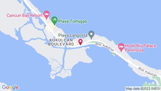 The Royal Cancun All Villas Resort Map