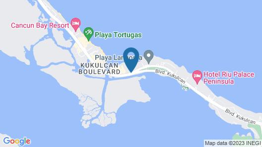 The Royal Cancun All Villas Resort - All Inclusive Map