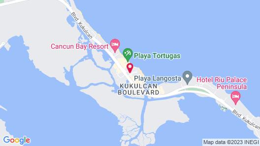 Aquamarina Beach Resort Map
